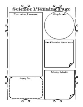 Science Planning Page