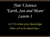 Science Planning The Sun Moon and Earth Powerpoints handouts