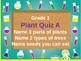 Science Plant Assessment Grade 1