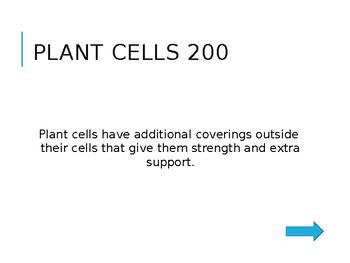 Science - Plant Jeopardy
