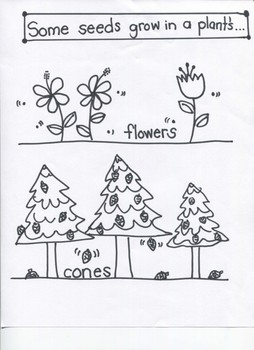 """Science: """"Plants and Their Parts"""" -""""Grasses/Shrubs/Trees"""" for Young Artists"""