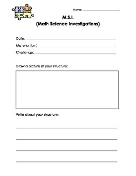 Science, Play- Math/Science Investigation