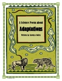 Science Poem about Adaptations