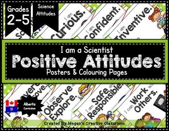 Science Positive Attitudes Posters {Grades 2-5}