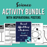 Science Poster and Activity Bundle