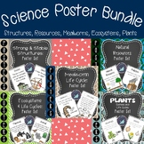 Science Posters Bundle {Structures, Resources, Mealworm, E