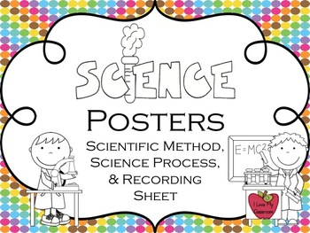 Science Posters {Science Process, Scientific Method, and Recording Sheets}