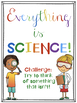 Science Posters and Bookmarks Freebie!