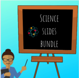 Science PowerPoint Bundle: Energy, Volcanoes, Earthquakes, Conduction, and more!