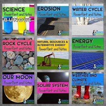 Science PowerPoints Bundle