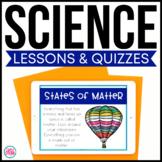 Science PowerPoints Bundle - 3rd Grade Science Bundle