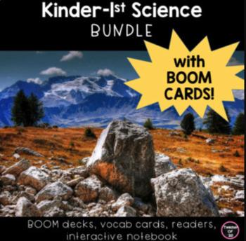 Kindergarten Science Unit Lessons **GROWING BUNDLE**