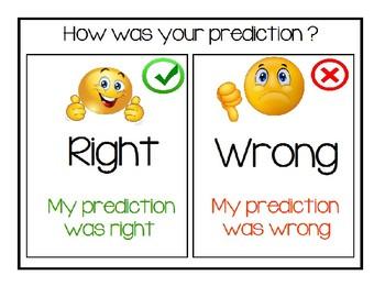 Science Prediction and Outcome visual
