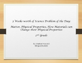 Science Problem of the Day: Matter and its Physical Properties