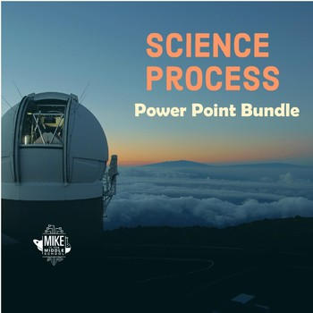 Science Process Editable Powerpoint Bundle For Middle School