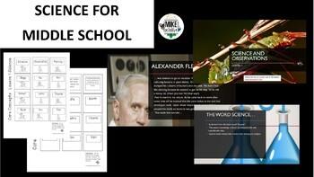 Science Process Bundle For Middle School