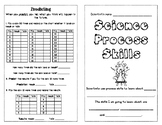 Science Process Skills Activity Booklet