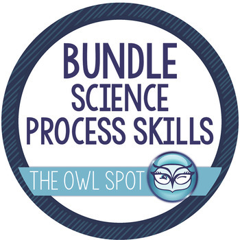 Science Process Skills Bundle - teach with seashells!