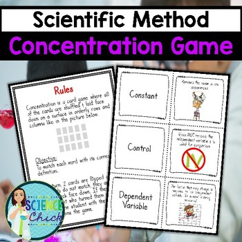 SMART Exchange - USA - Matching Game for Scientific Method Vocabulary
