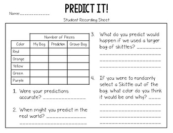 Science Process Skills Mini Lesson: Predict