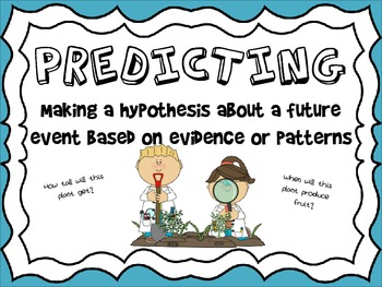 Science Process Skills Posters - Blue Background