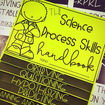 Science Process Skills: Posters & Flipbook
