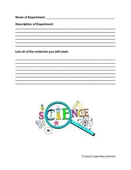 Science Process Skills Project
