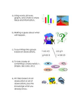 Science Process Skills Quiz