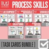 Science Process Skills Task Card Bundle- Printable and Digital