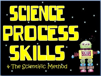 Science Process Skills & The Scientific Method Ppt/Posters