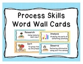 Science Process Skills Word Wall Cards