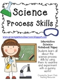 Science Process Skills with Gummy Worms ~ Interactive Science Notebook Pack