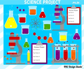 Science clipart commercial use