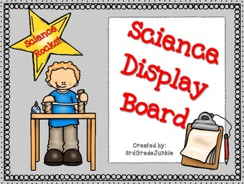 Science Project Experiment Display Board Designs