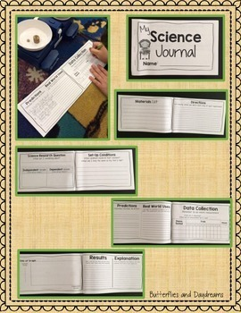 Science Project Journal {Science Fair Experiment}