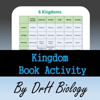 Kingdoms of Life Book Activity
