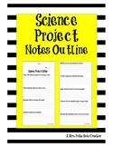 Science Project Notes Outline