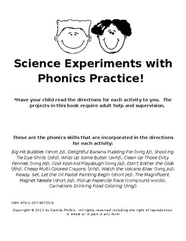 Science Projects and Phonics Practice Together