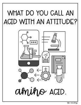 Science Puns - Classroom Posters