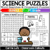 Fun Summer School Activities | Science Word Searches & Crossword Puzzles