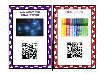 Science QR Code Informational and Research Station