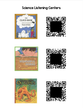 Science QR Code Listening Centers