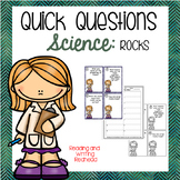 Science Quick Questions - Rocks
