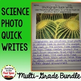 Science Quick Writes Multi-Grade Bundle