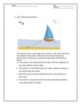 Science Quiz/Assessment