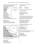 Middle School Science Quiz - Plate Tectonics