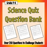 Science Quiz Question Bank