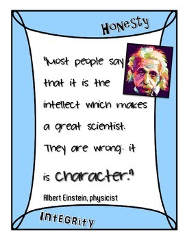 Science Quote Mini Posters - Freebie!