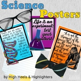 Science Quote Posters