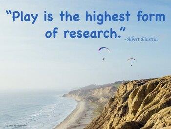Science Quote Posters - Albert Einstein